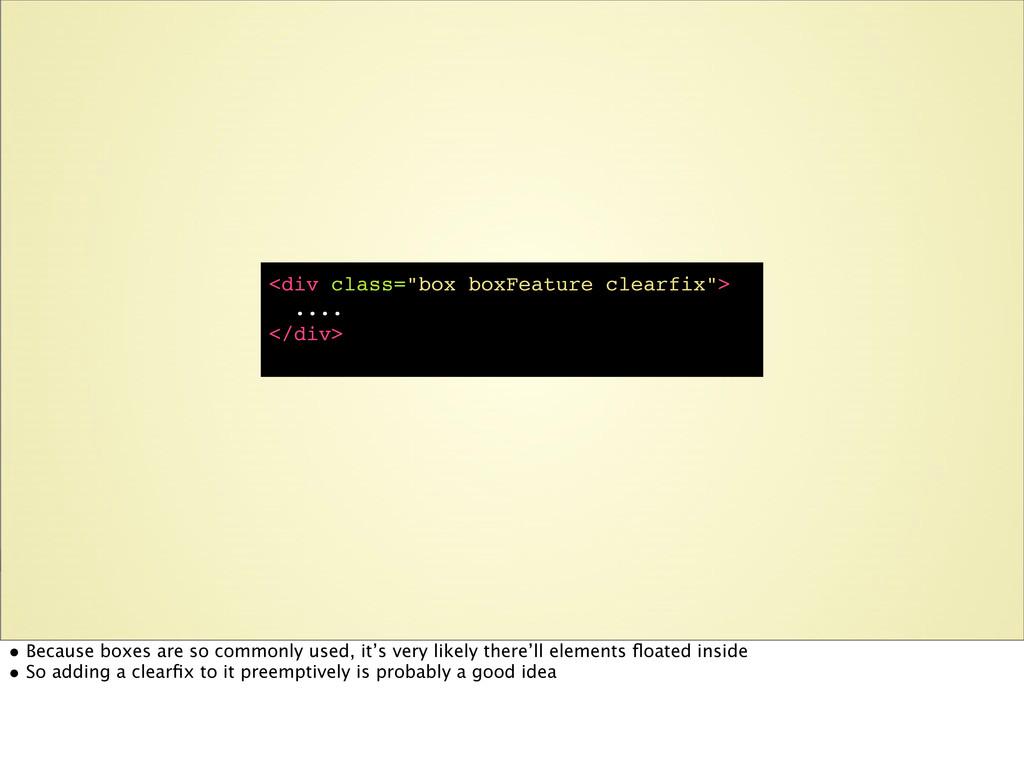 "<div class=""box boxFeature clearfix""> .... </di..."
