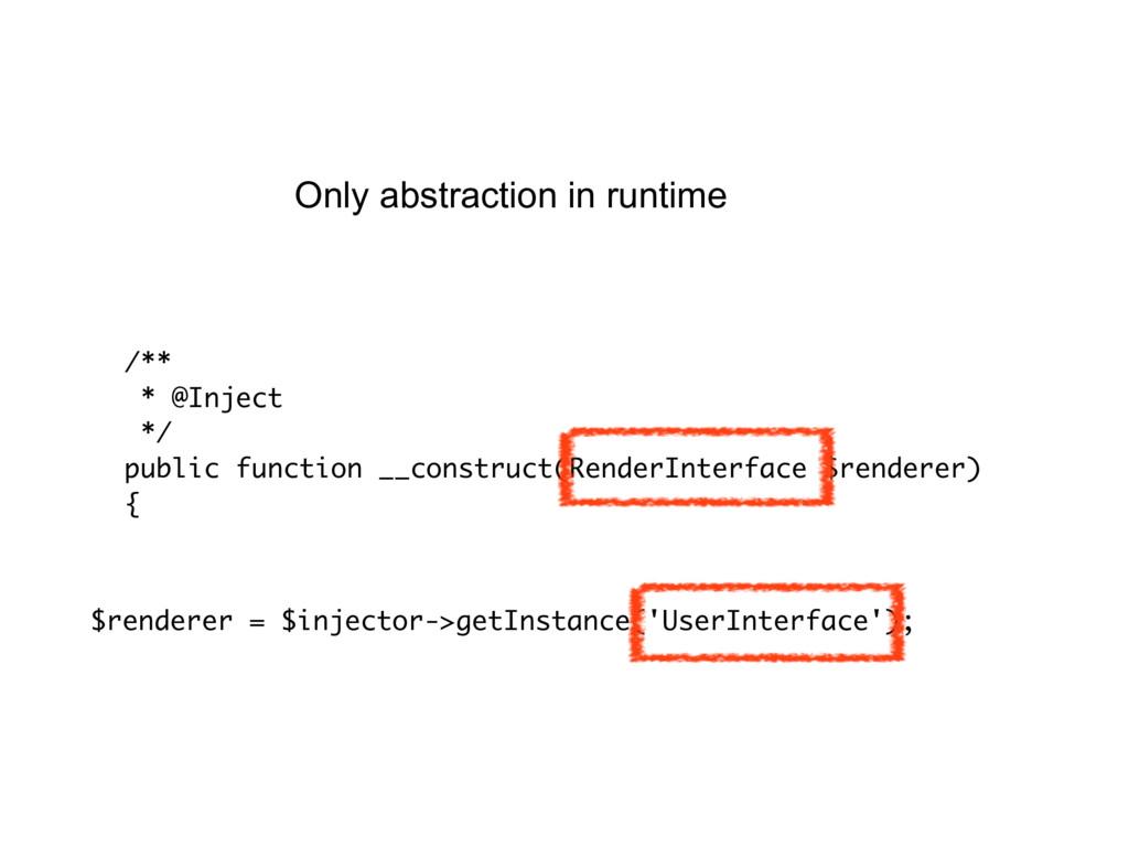 $renderer = $injector->getInstance('UserInterfa...