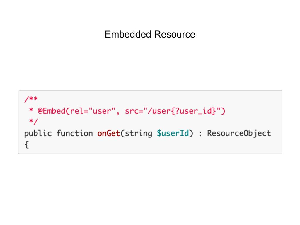 Embedded Resource