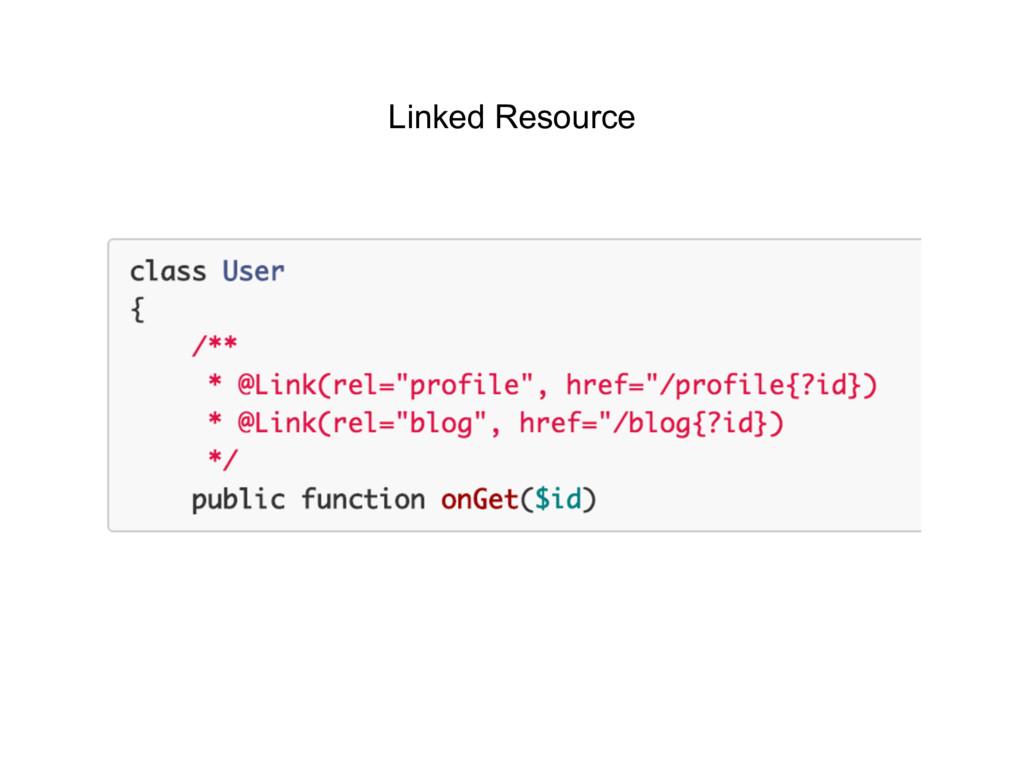 Linked Resource