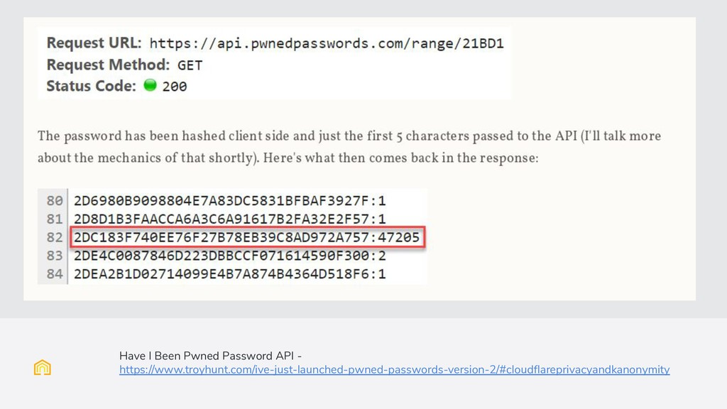 Have I Been Pwned Password API - https://www.tr...