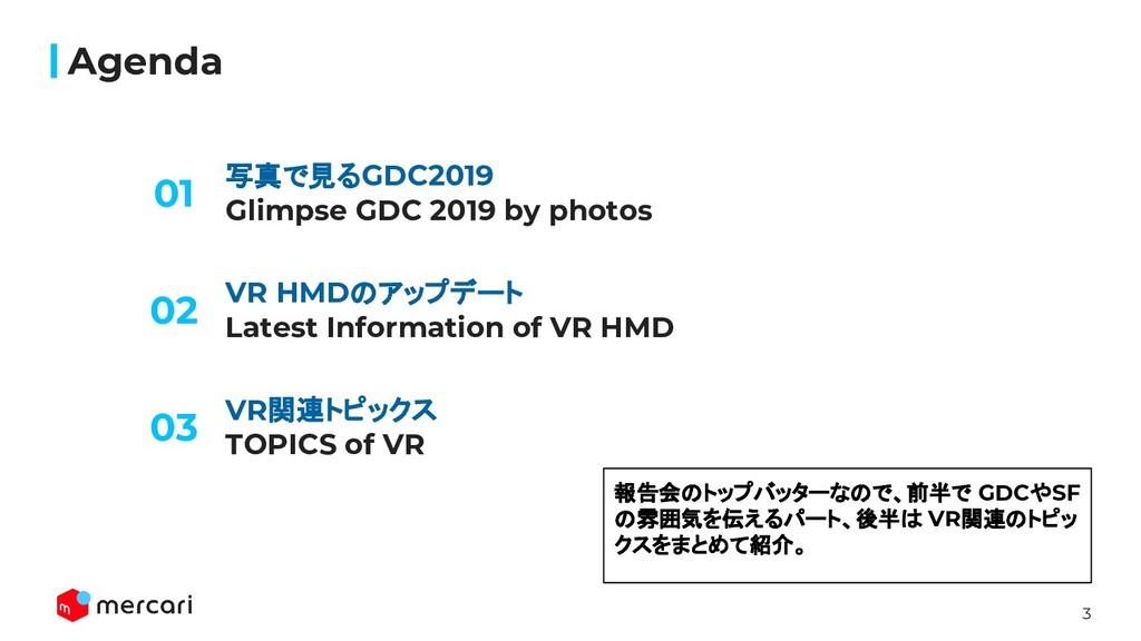3 写真で見るGDC2019 Glimpse GDC 2019 by photos Agend...