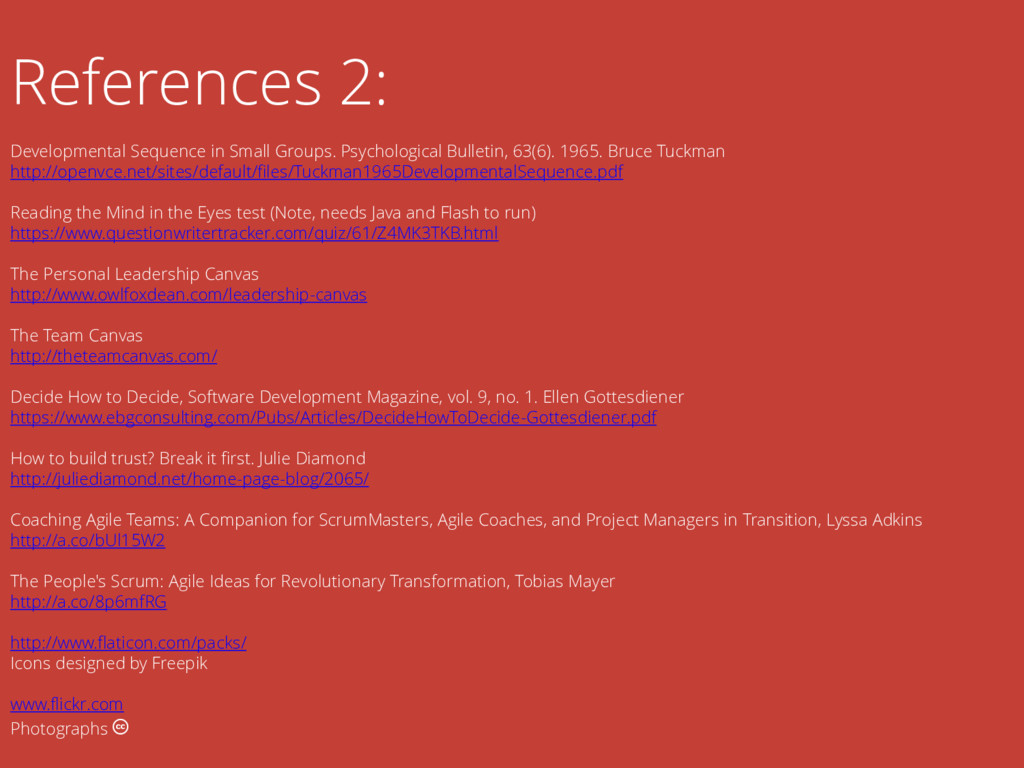 References 2: Developmental Sequence in Small G...