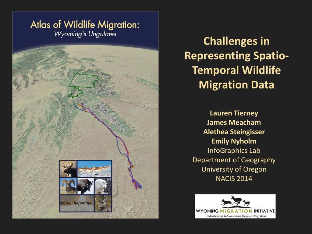 Challenges in Representing Spatio- Temporal Wil...