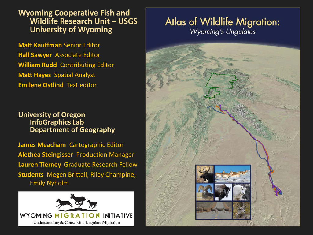 Wyoming Cooperative Fish and Wildlife Research ...