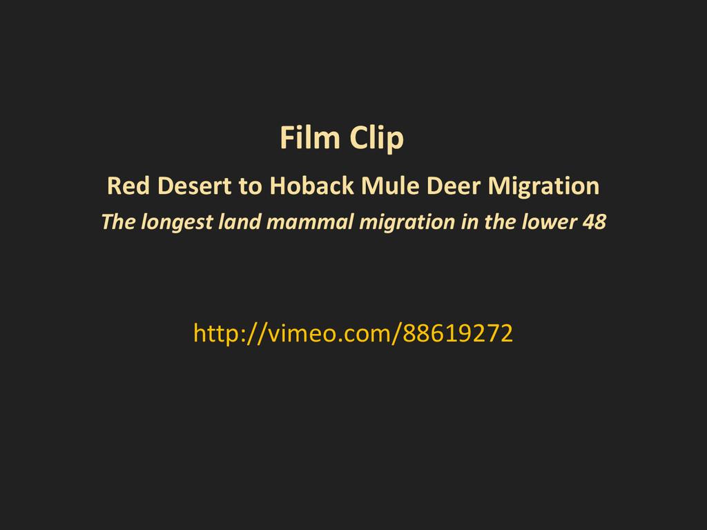 http://vimeo.com/88619272 Film Clip Red Desert ...