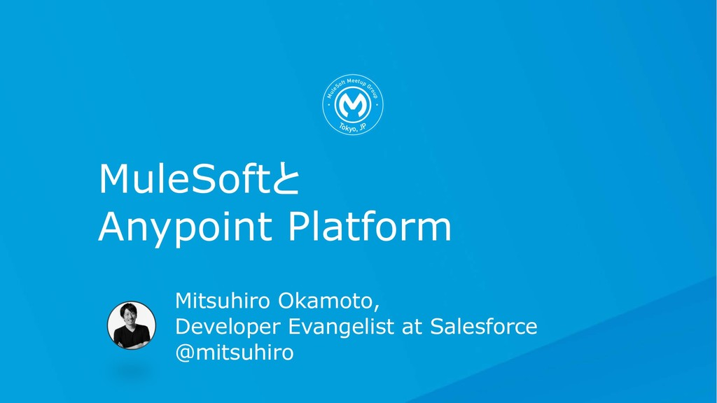 Mitsuhiro Okamoto, Developer Evangelist at Sale...