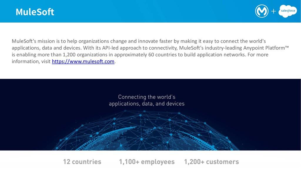.VMF4PGU MuleSoft's mission is to help organiza...