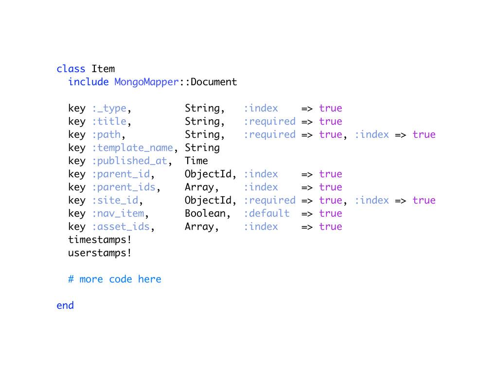 class Item include MongoMapper::Document key :_...
