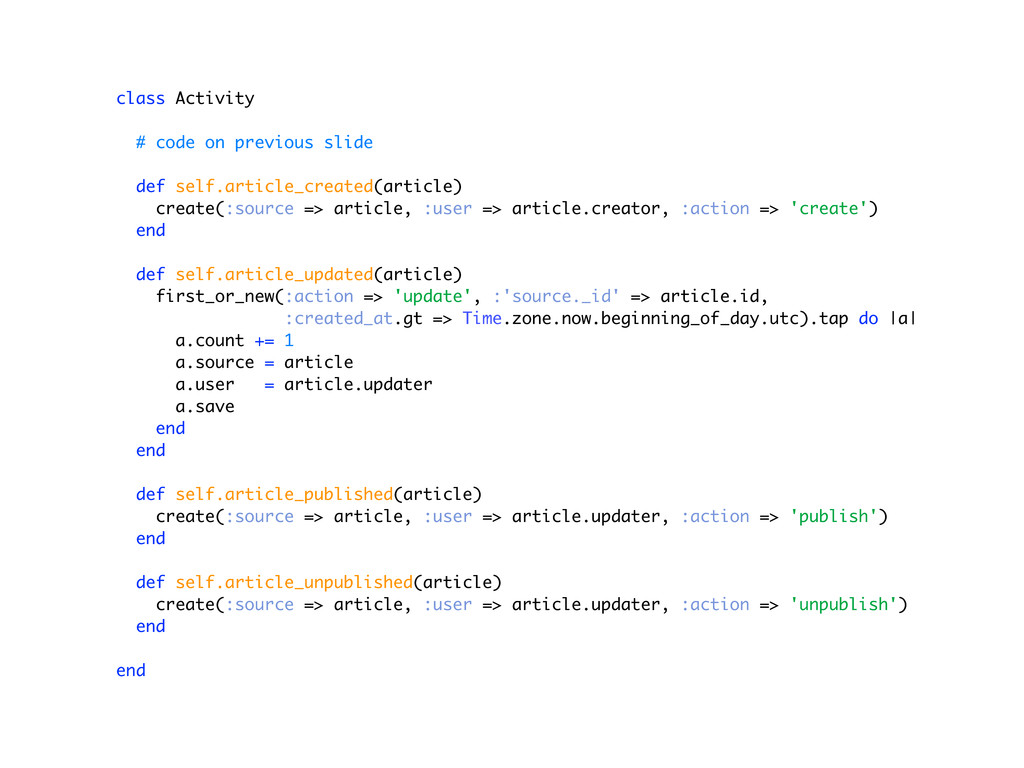 class Activity # code on previous slide def sel...