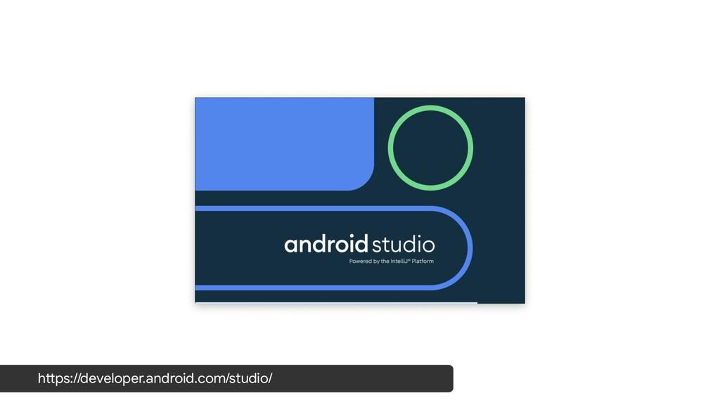 https://developer.android.com/studio/