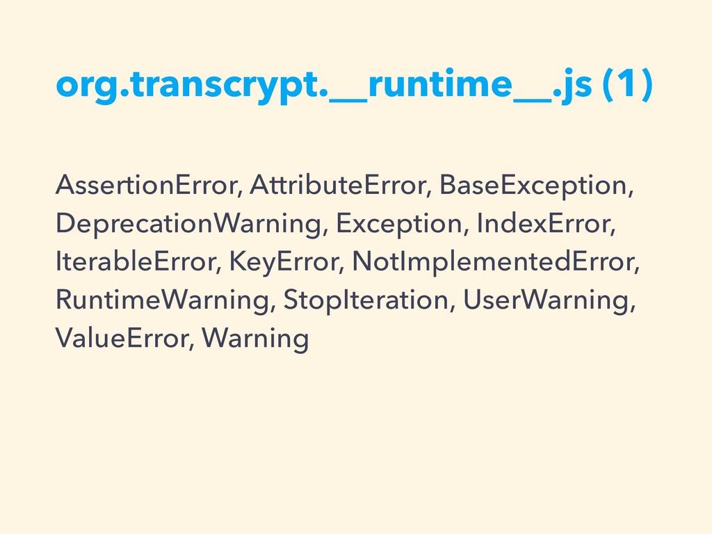 org.transcrypt.__runtime__.js (1) AssertionErro...