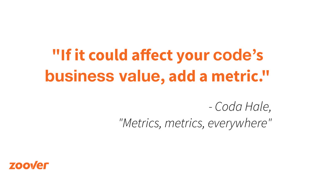 """If it could affect your code's 