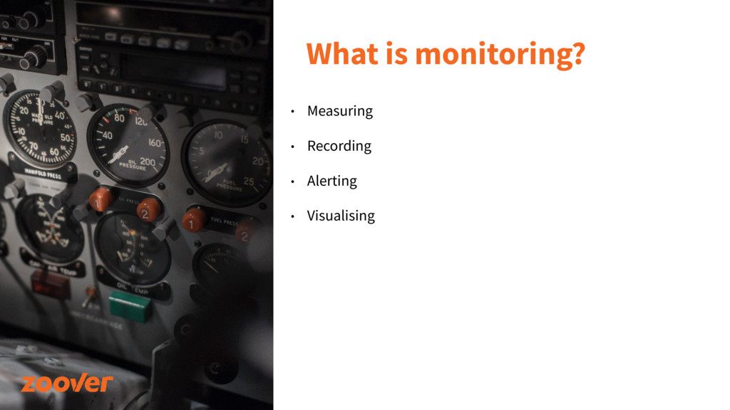 What is monitoring? • Measuring • Recording • A...