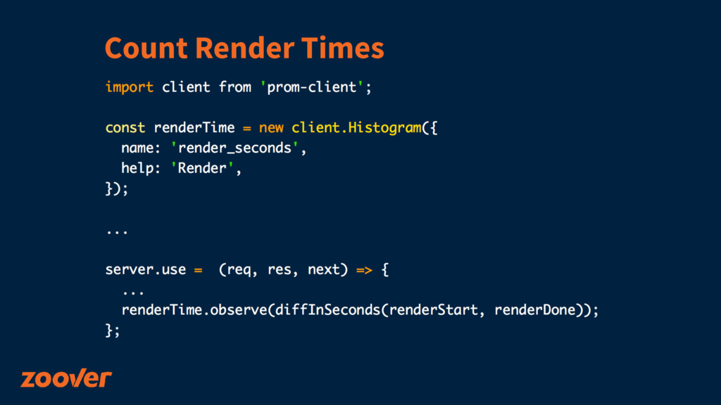 Count Render Times