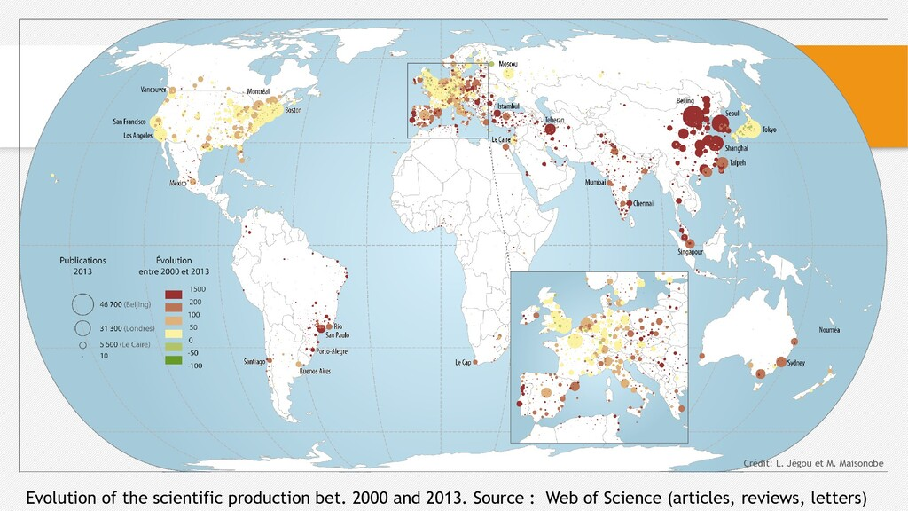 Evolution of the scientific production bet. 200...