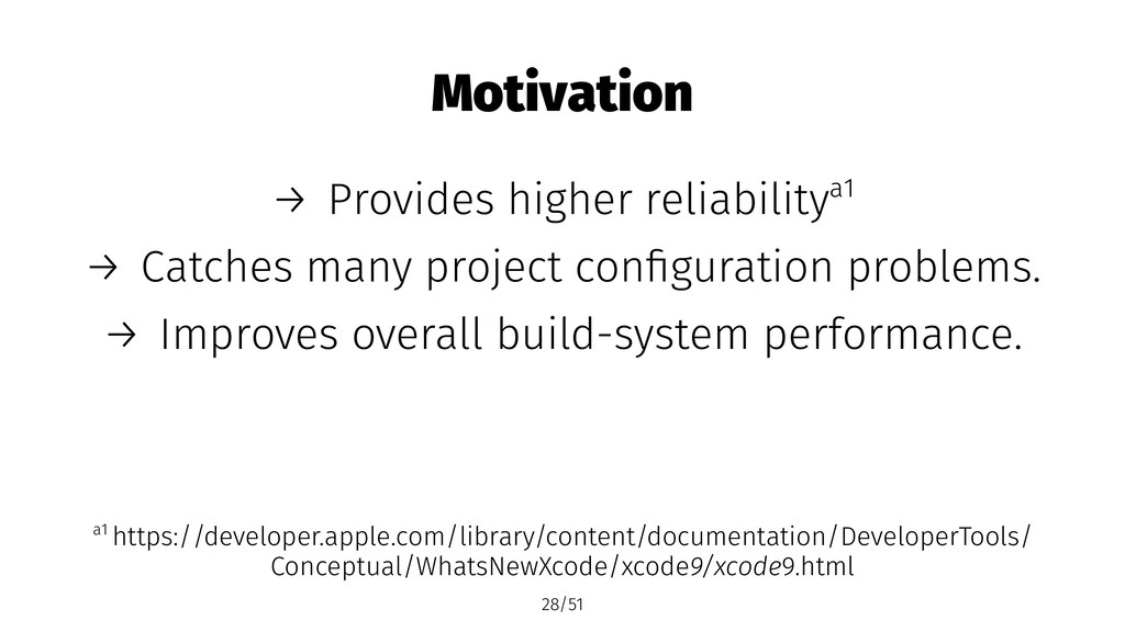 Motivation → Provides higher reliabilitya1 → Ca...