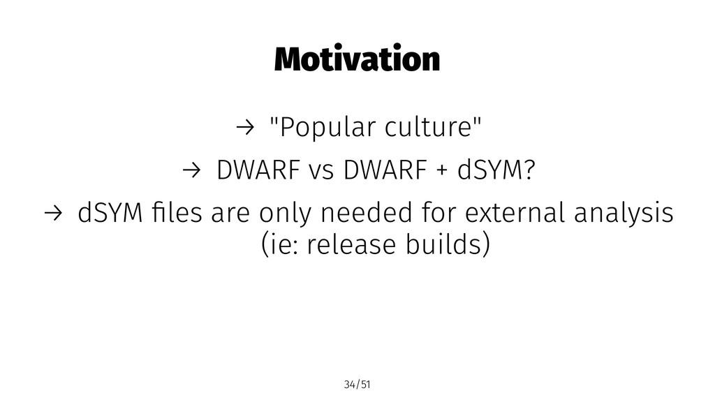 """Motivation → """"Popular culture"""" → DWARF vs DWARF..."""