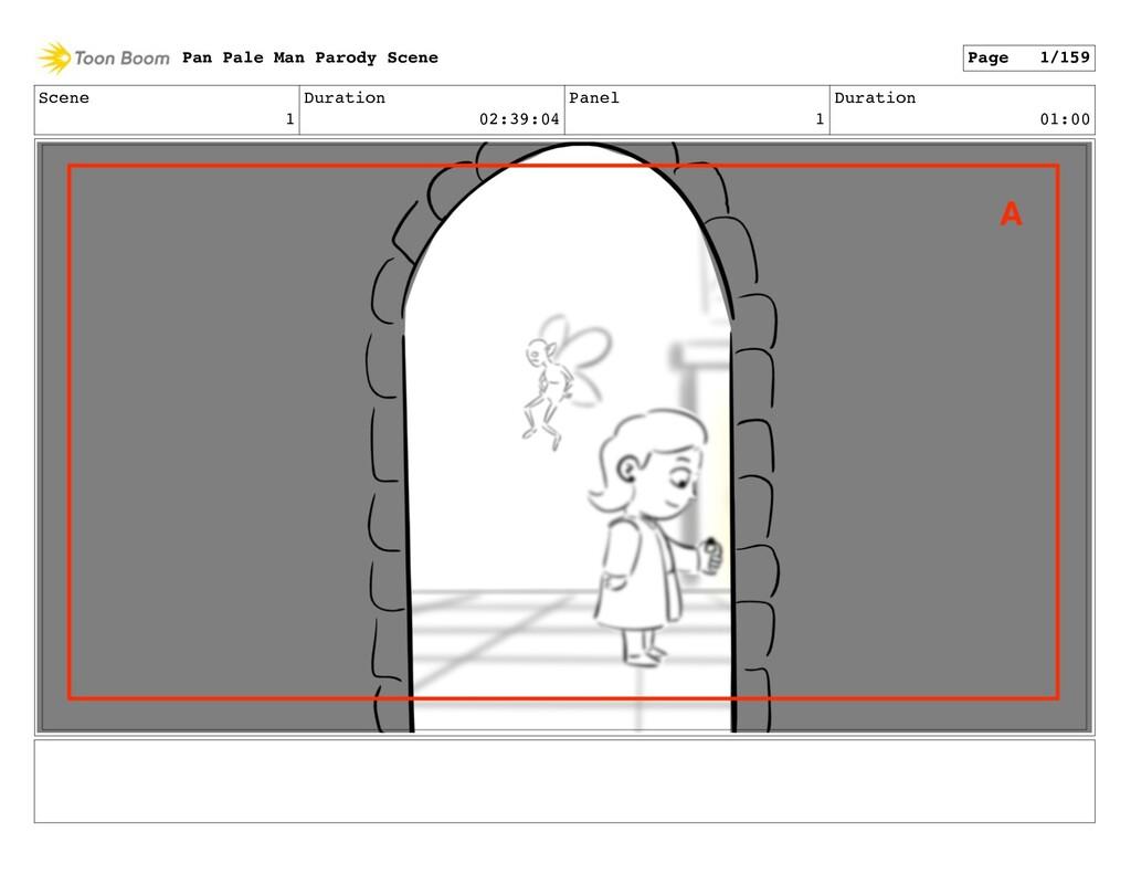Scene 1 Duration 02:39:04 Panel 1 Duration 01:0...