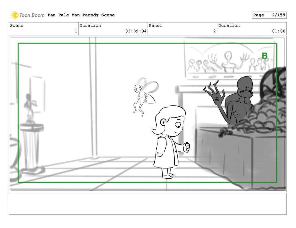 Scene 1 Duration 02:39:04 Panel 2 Duration 01:0...