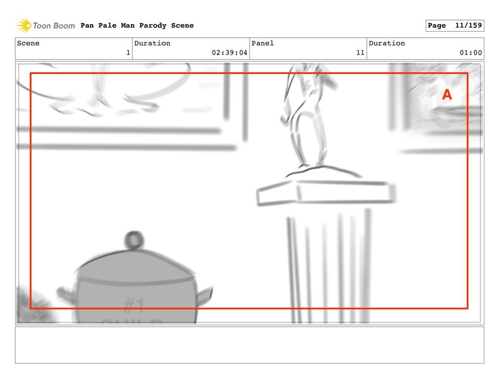 Scene 1 Duration 02:39:04 Panel 11 Duration 01:...
