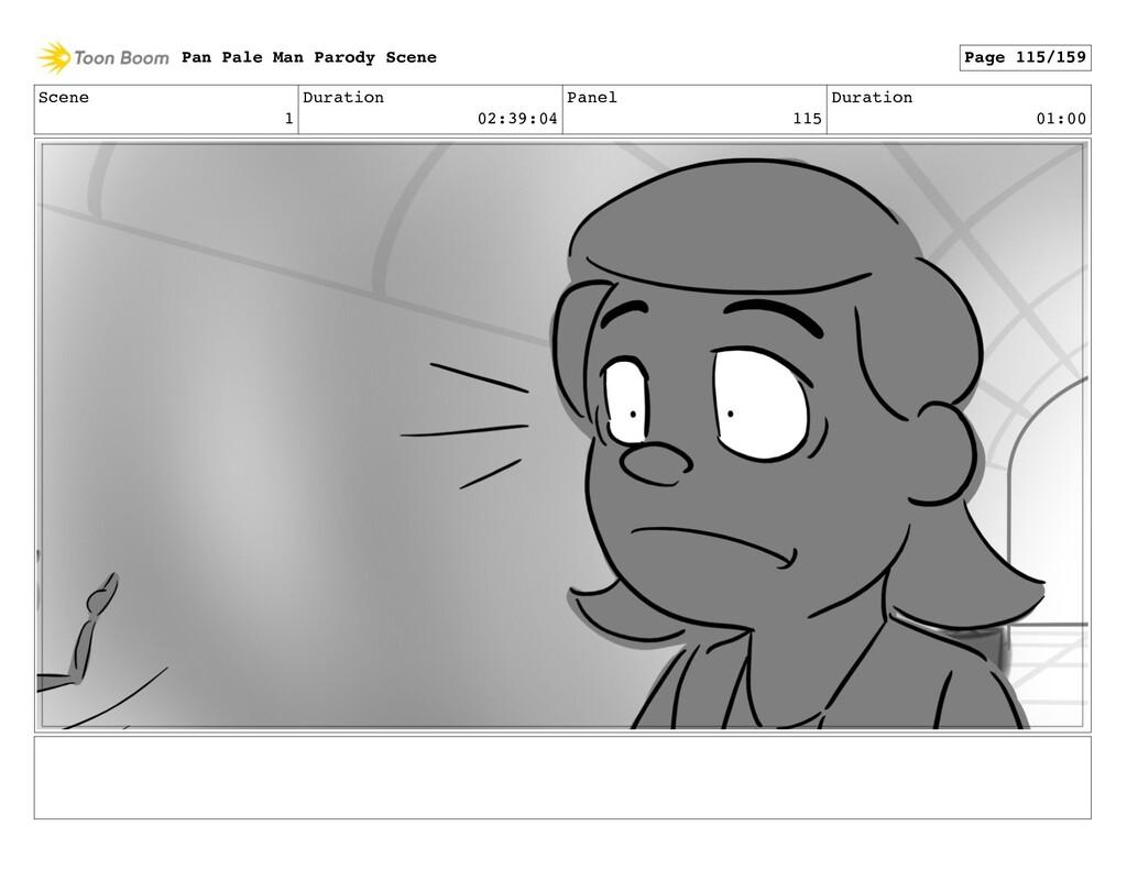 Scene 1 Duration 02:39:04 Panel 115 Duration 01...