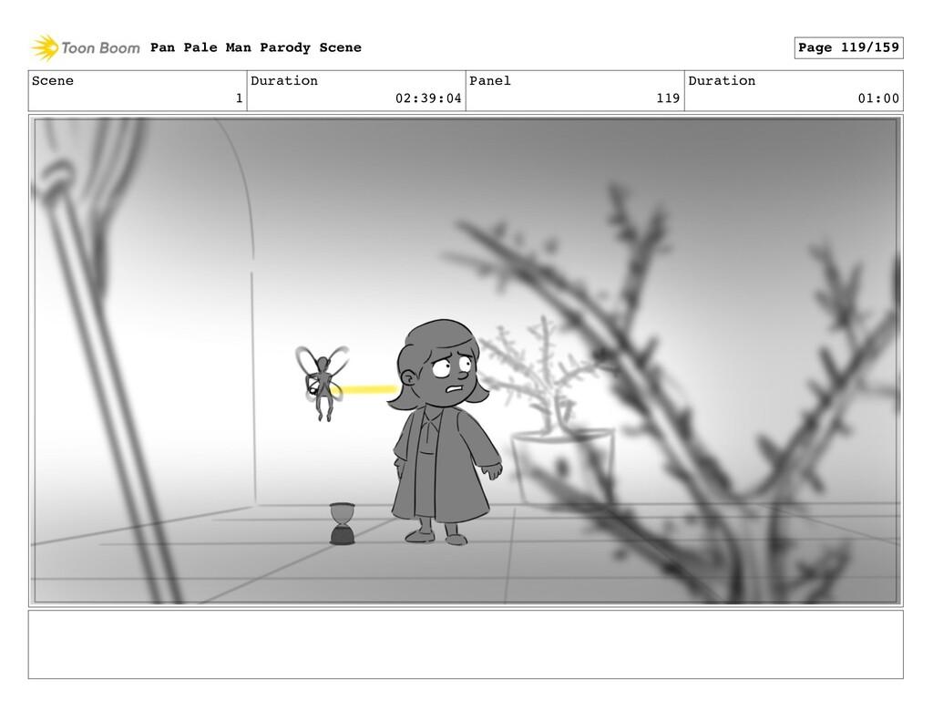 Scene 1 Duration 02:39:04 Panel 119 Duration 01...