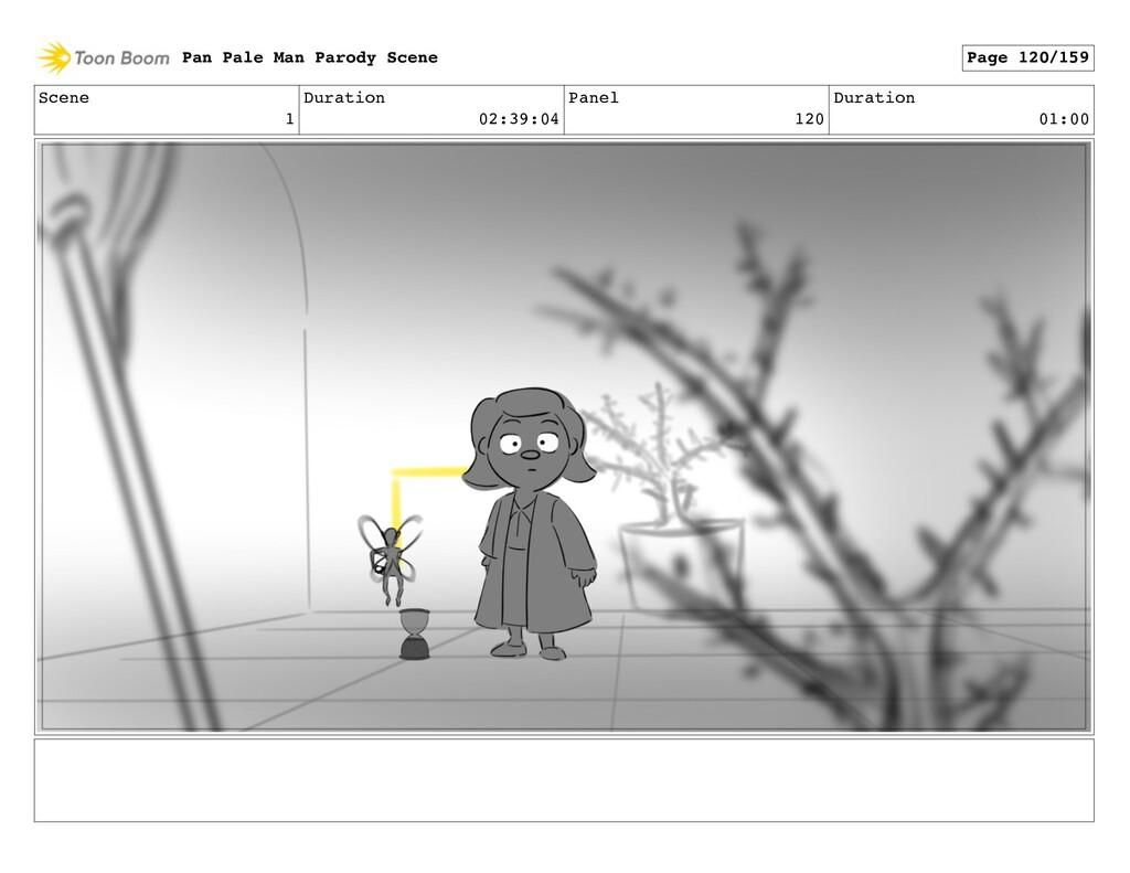 Scene 1 Duration 02:39:04 Panel 120 Duration 01...