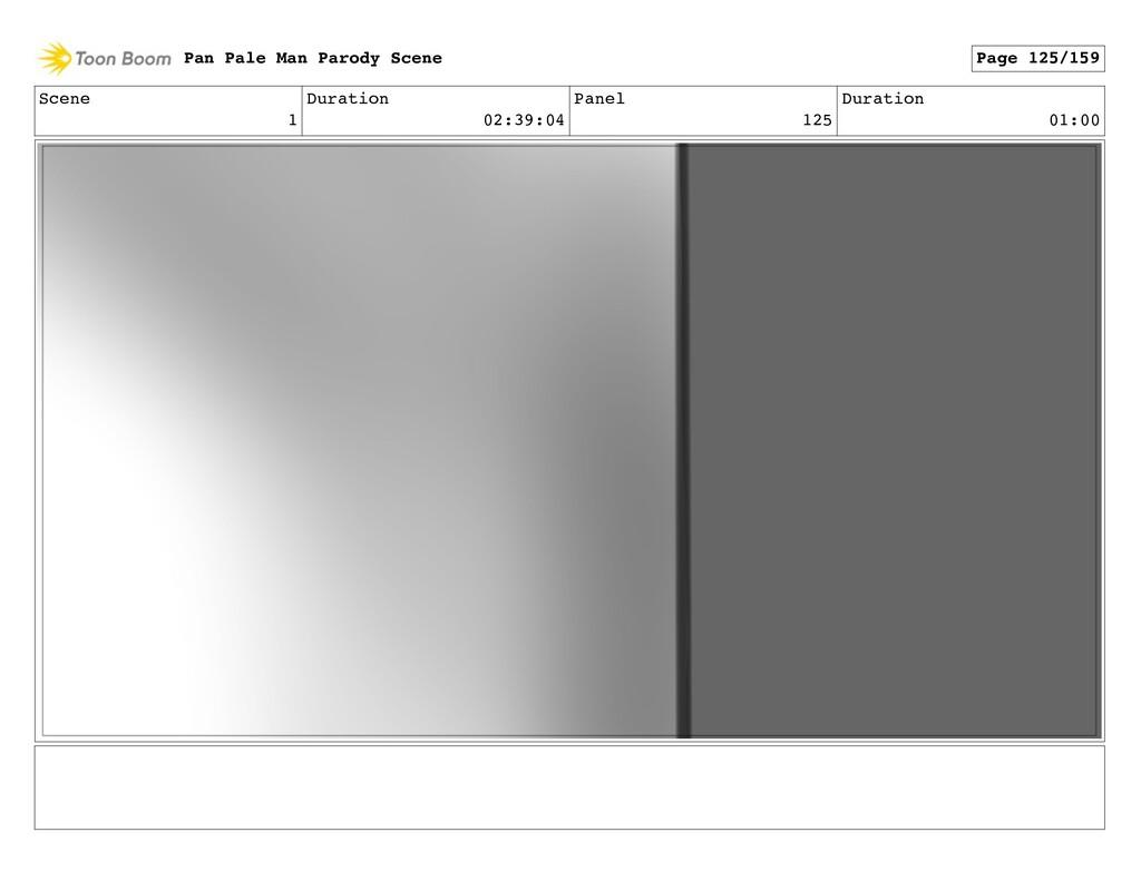 Scene 1 Duration 02:39:04 Panel 125 Duration 01...