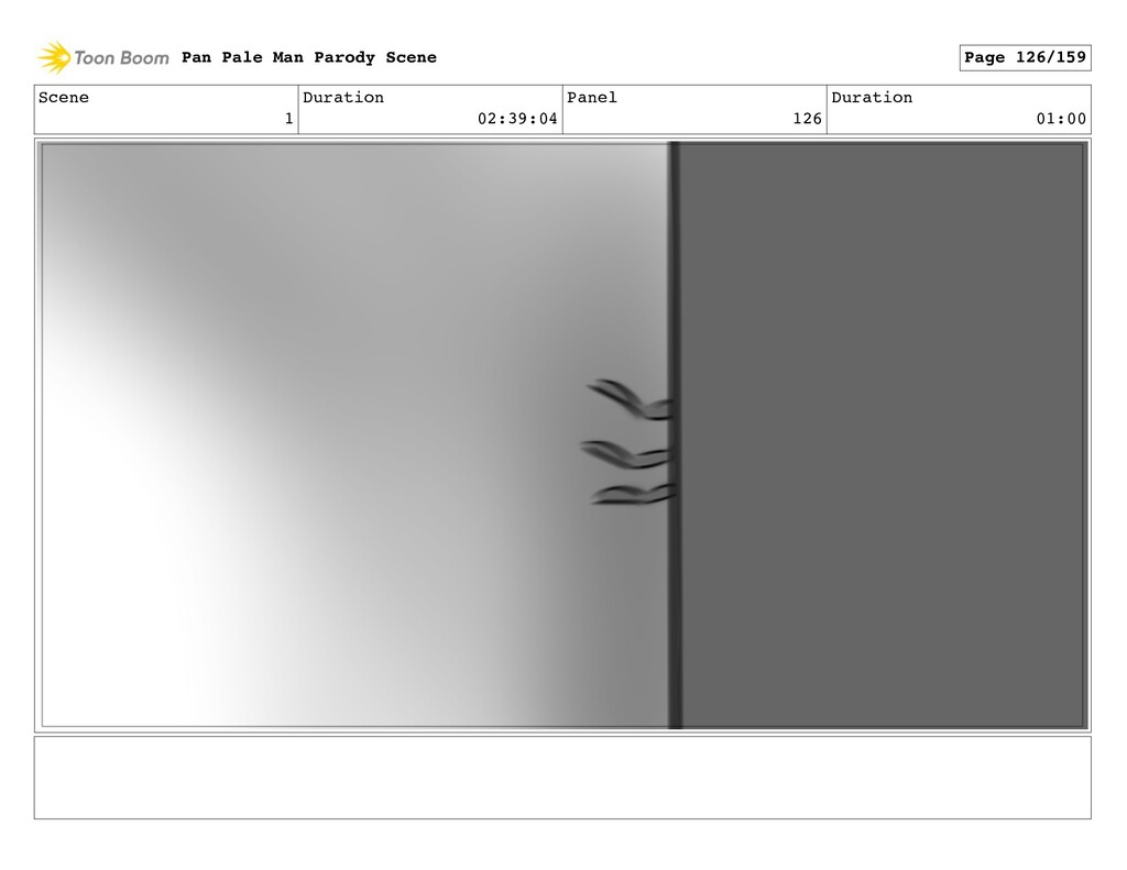 Scene 1 Duration 02:39:04 Panel 126 Duration 01...