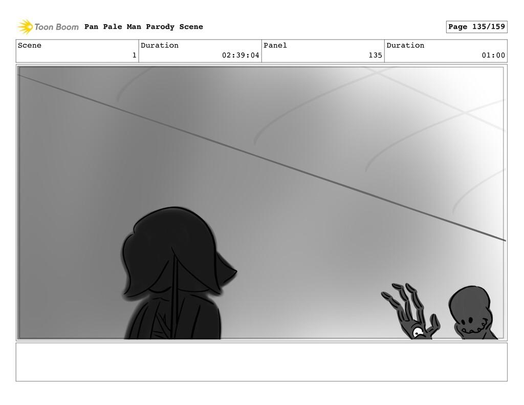 Scene 1 Duration 02:39:04 Panel 135 Duration 01...