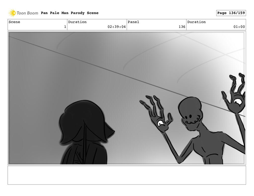 Scene 1 Duration 02:39:04 Panel 136 Duration 01...