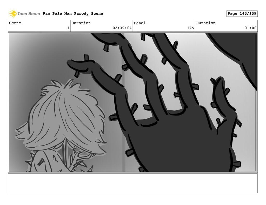 Scene 1 Duration 02:39:04 Panel 145 Duration 01...