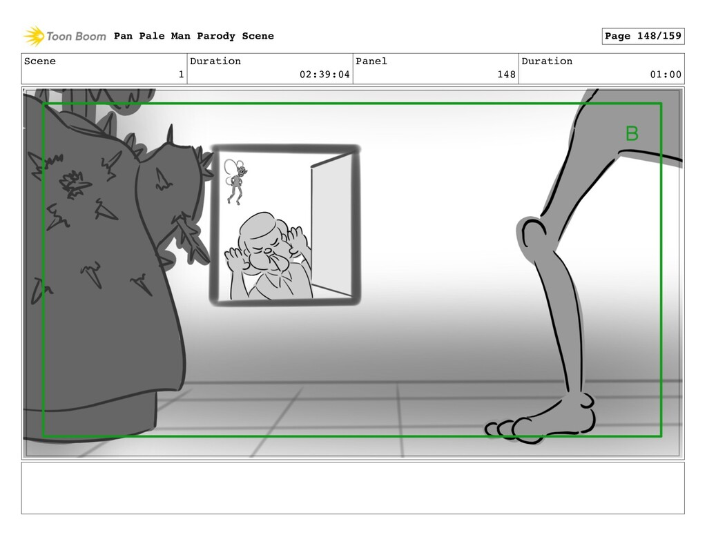 Scene 1 Duration 02:39:04 Panel 148 Duration 01...