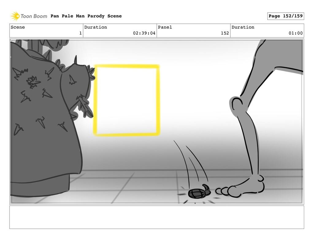 Scene 1 Duration 02:39:04 Panel 152 Duration 01...