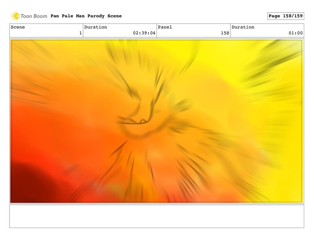 Scene 1 Duration 02:39:04 Panel 158 Duration 01...