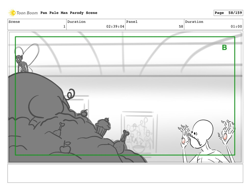 Scene 1 Duration 02:39:04 Panel 58 Duration 01:...