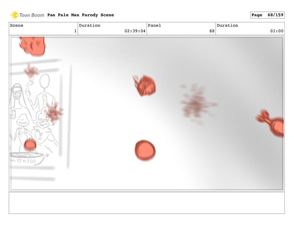 Scene 1 Duration 02:39:04 Panel 68 Duration 01:...
