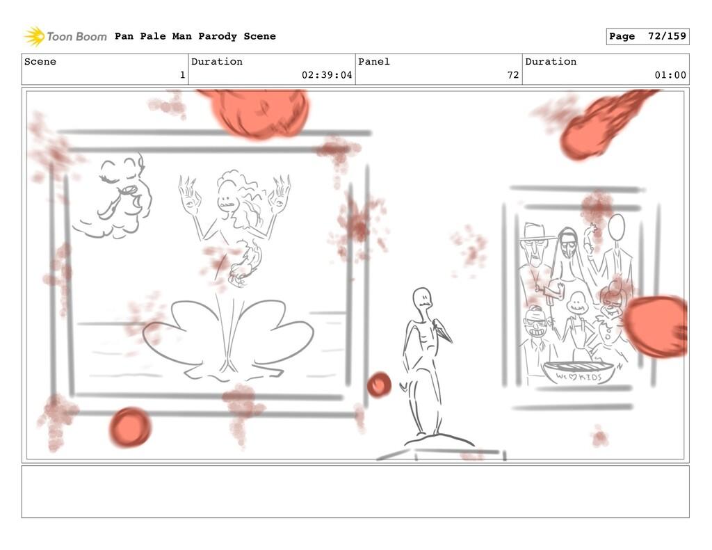 Scene 1 Duration 02:39:04 Panel 72 Duration 01:...