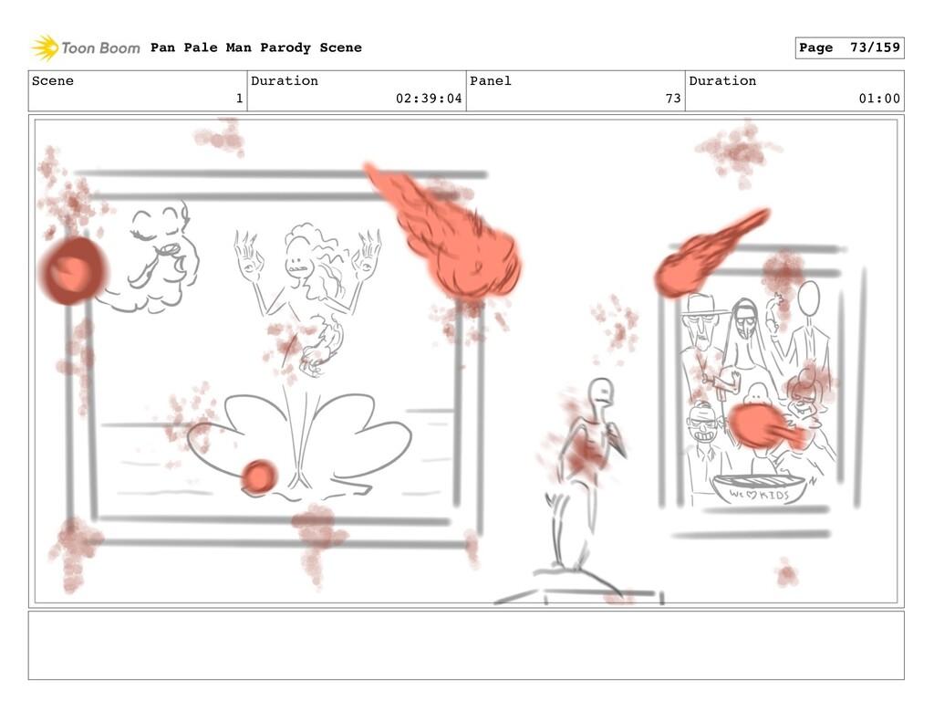 Scene 1 Duration 02:39:04 Panel 73 Duration 01:...