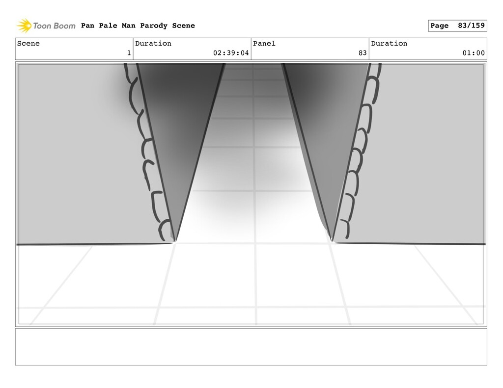 Scene 1 Duration 02:39:04 Panel 83 Duration 01:...