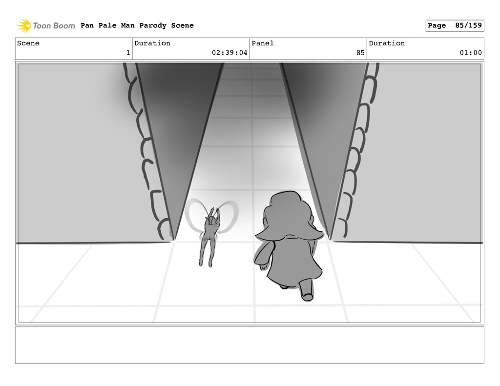 Scene 1 Duration 02:39:04 Panel 85 Duration 01:...