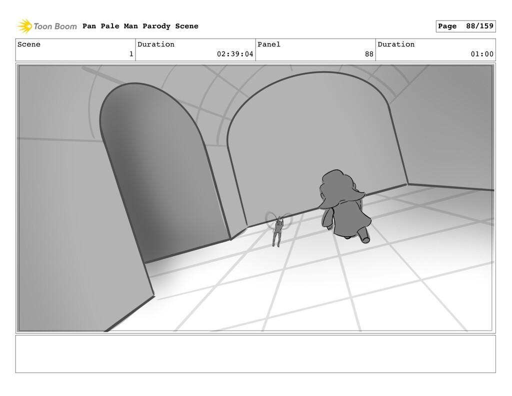 Scene 1 Duration 02:39:04 Panel 88 Duration 01:...