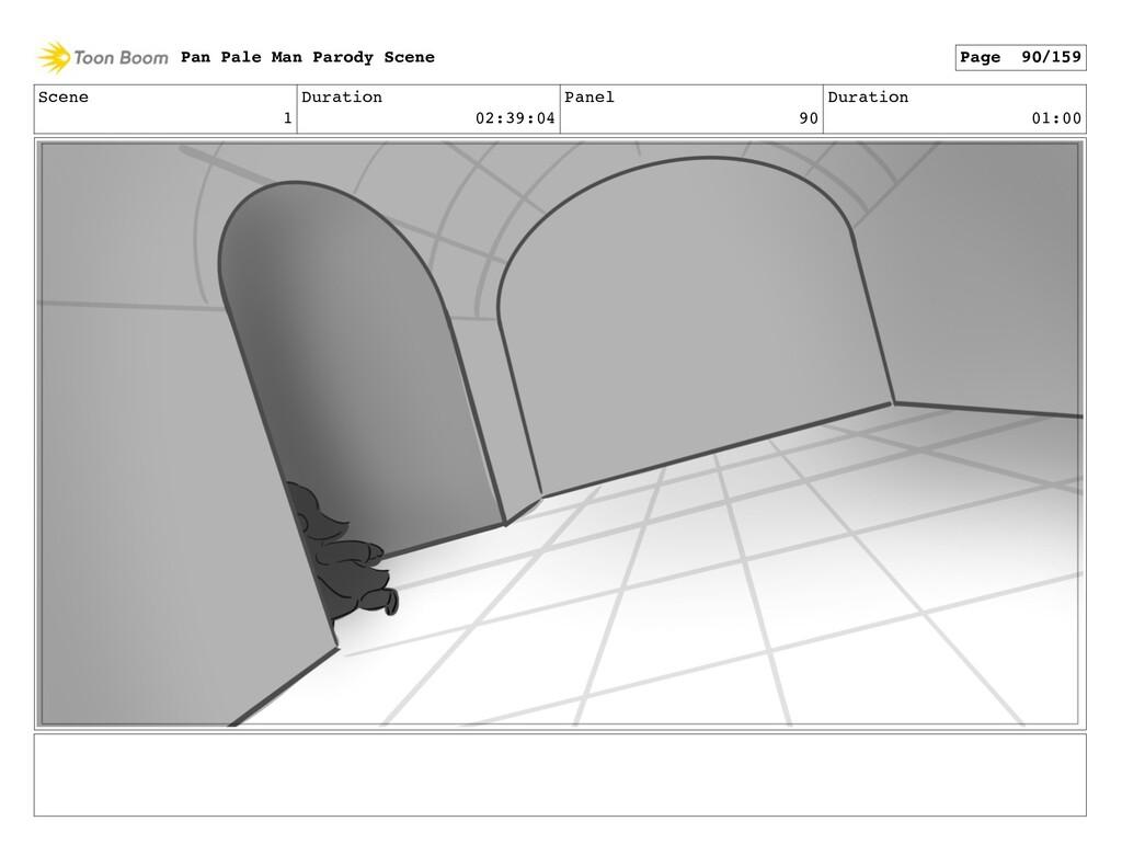 Scene 1 Duration 02:39:04 Panel 90 Duration 01:...