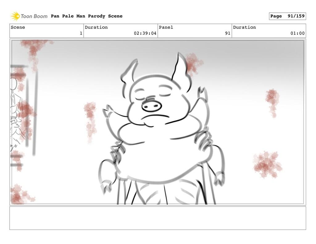 Scene 1 Duration 02:39:04 Panel 91 Duration 01:...