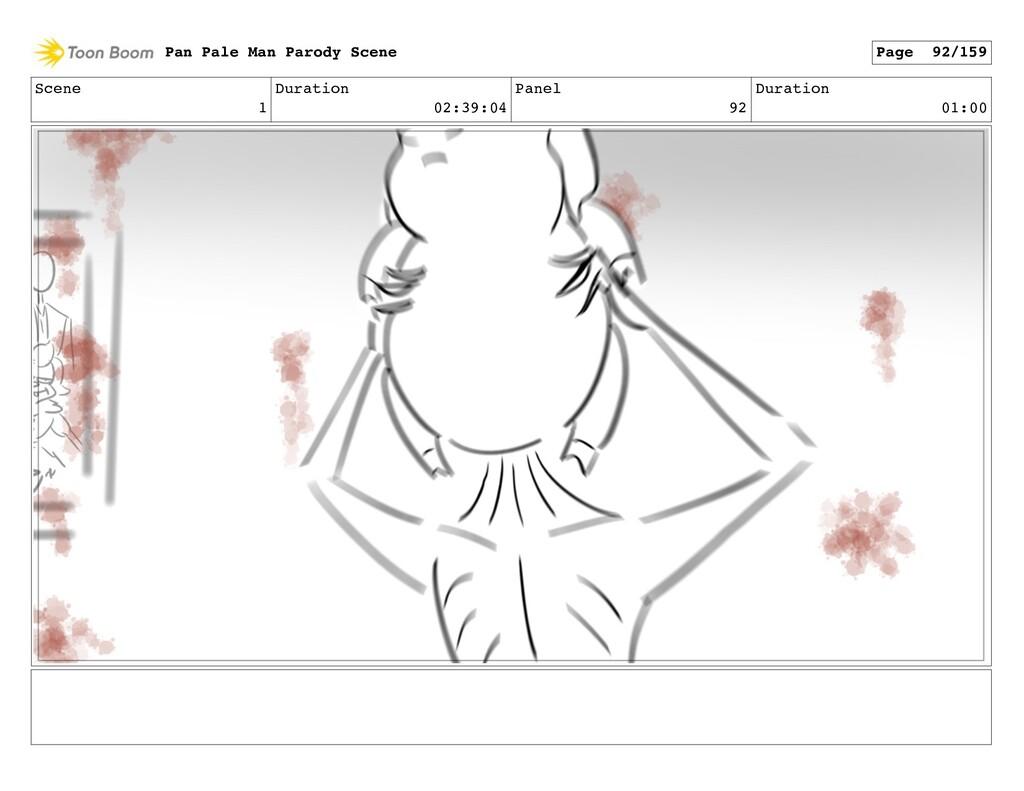 Scene 1 Duration 02:39:04 Panel 92 Duration 01:...