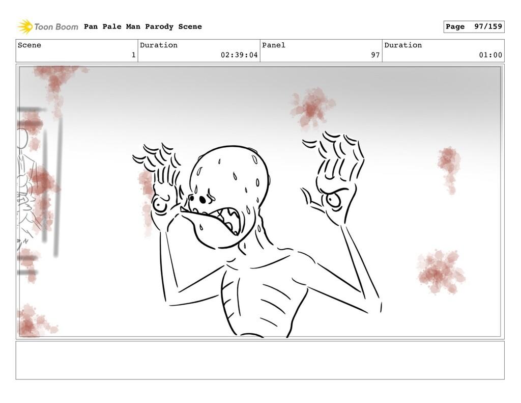 Scene 1 Duration 02:39:04 Panel 97 Duration 01:...