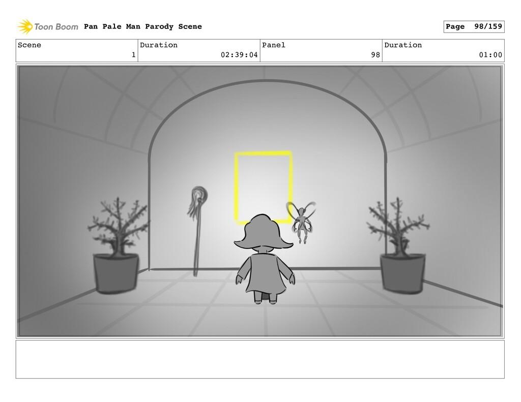 Scene 1 Duration 02:39:04 Panel 98 Duration 01:...