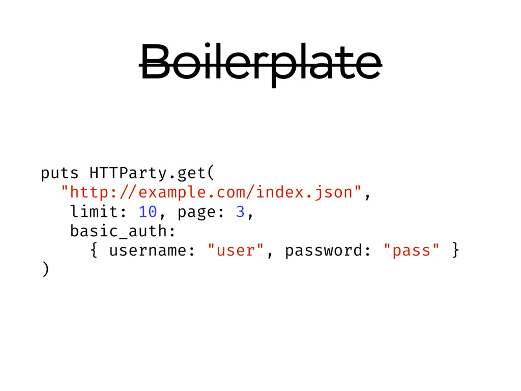 """Boilerplate puts HTTParty.get( """"http: //example..."""