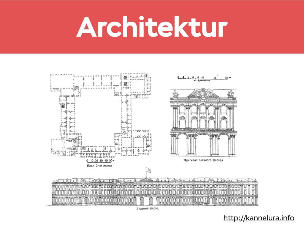 Architektur http://kannelura.info
